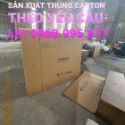 Chuyên bán thùng Carton tại Đồng Nai